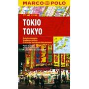 Tokyo Stadskarta Marco Polo