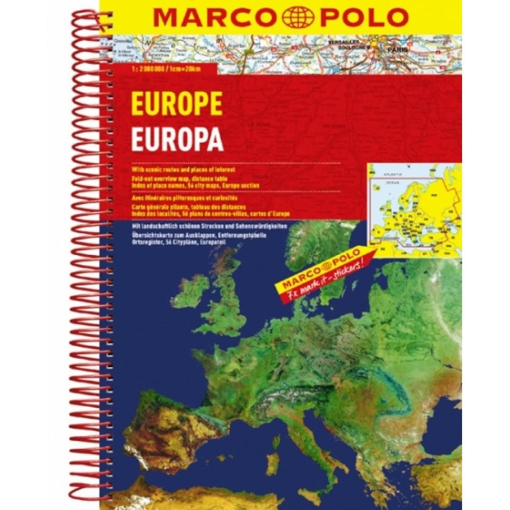 Europa Atlas spiral Marco Polo