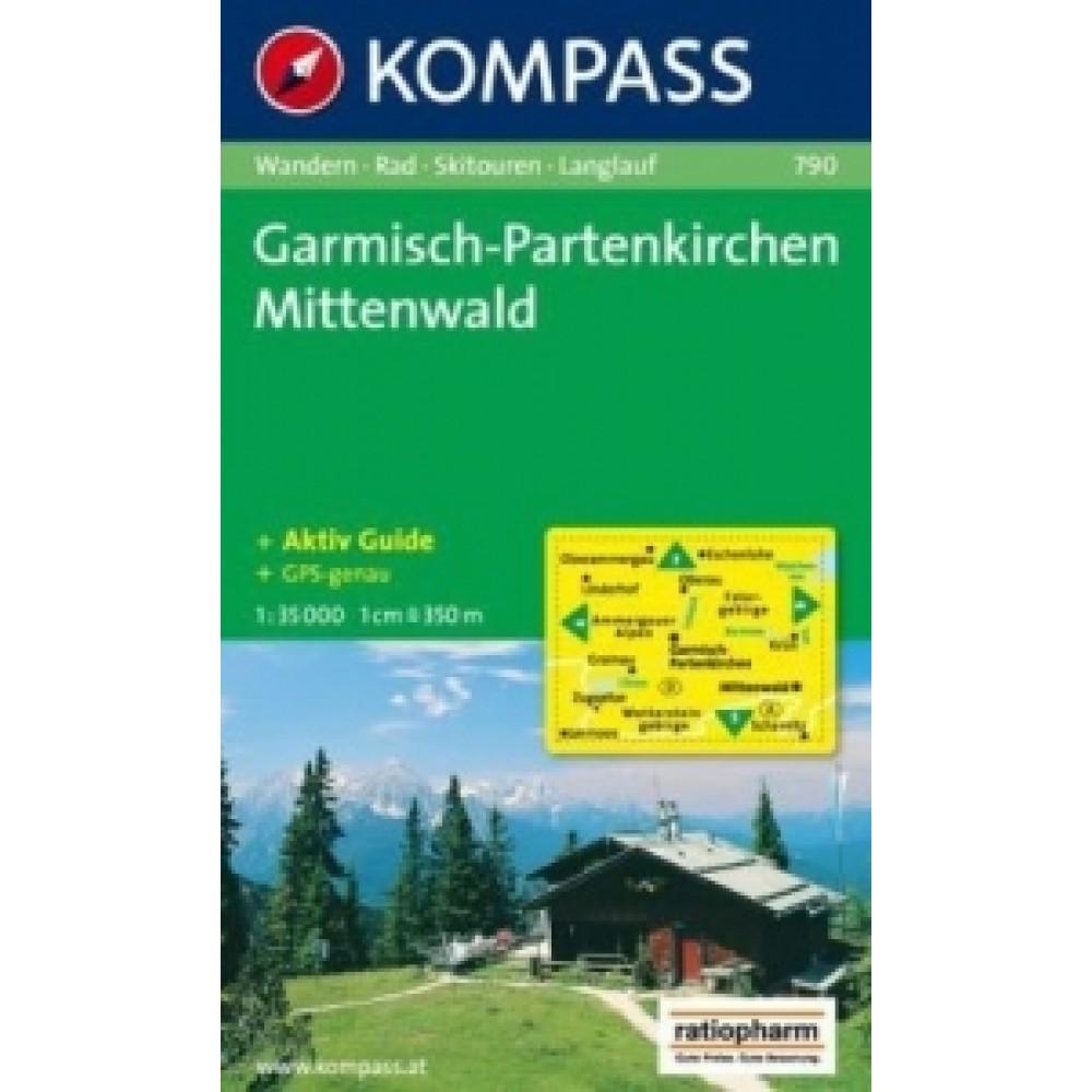 790 Kompass Wanderkarte