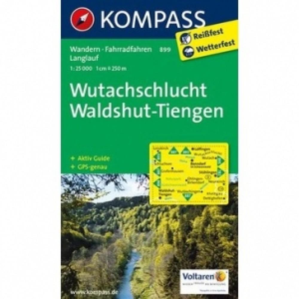 899 Kompass Wanderkarte