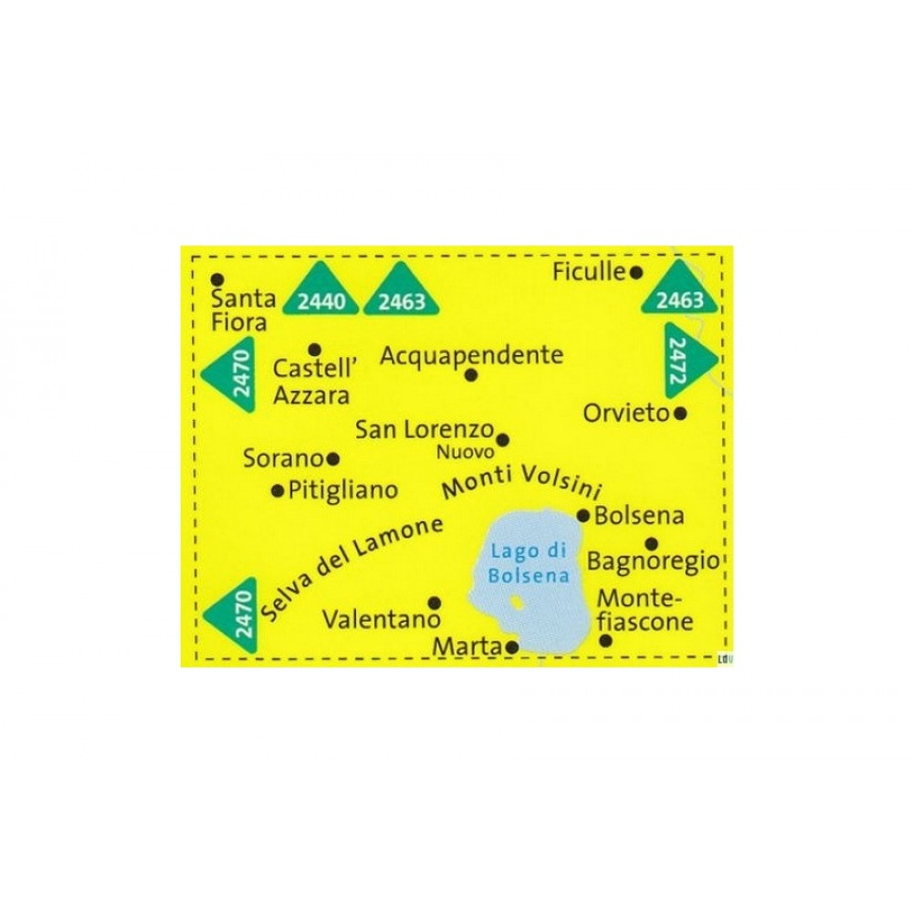 2471 Kompass Wanderkarte