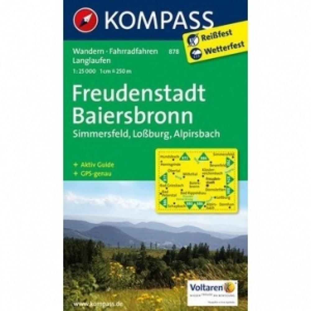 878 Kompass Wanderkarte