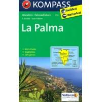 232 La Palma Kompass Wanderkarte