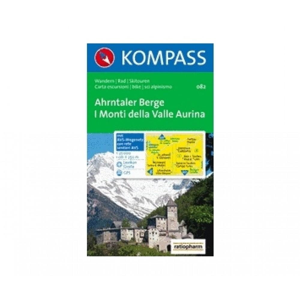 082 Kompass Wanderkarte