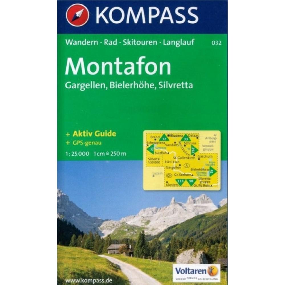032 Kompass Wanderkarte