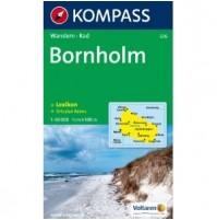 236 Bornholm Kompass Wanderkarte