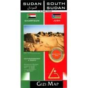Sudan, Sydsudan Gizimap