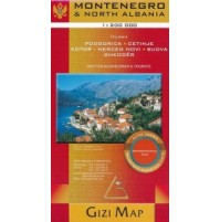 Montenegro & Norra Albanien GiziMap