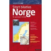 Stort Bilatlas Norge 2019