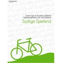 Södra Själland Cykelkarta