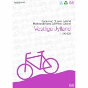 Västjylland Cykelkarta