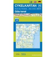 Cykelkartan 19 Göta Kanal