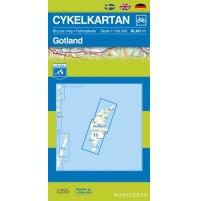 Cykelkartan 11 Gotland