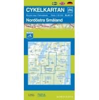 Cykelkartan 15 Nordöstra Småland