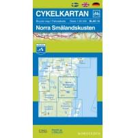 Cykelkartan 16 Norra Smålandskusten