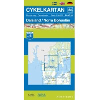 Cykelkartan 20 Dalsland/Norra Bohuslän