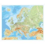 Europa väggkarta Norstedts 1:5,5 milj  FYS 98x82cm