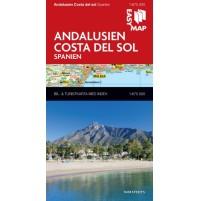 Andalusien Costa del Sol EasyMap