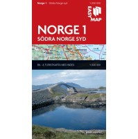 Norge 1. Södra Norge syd EasyMap