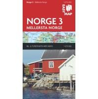 Norge 3. Mellersta Norge EasyMap