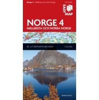 Norge 4. Mellersta och norra Norge EasyMap