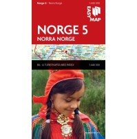 Norge 5. Norra Norge EasyMap