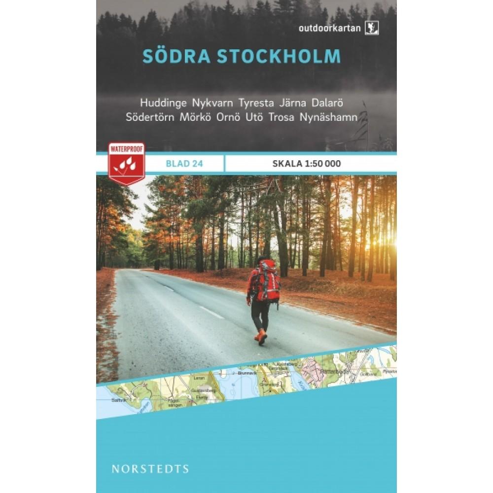 Södra Stockholm Outdoorkartan