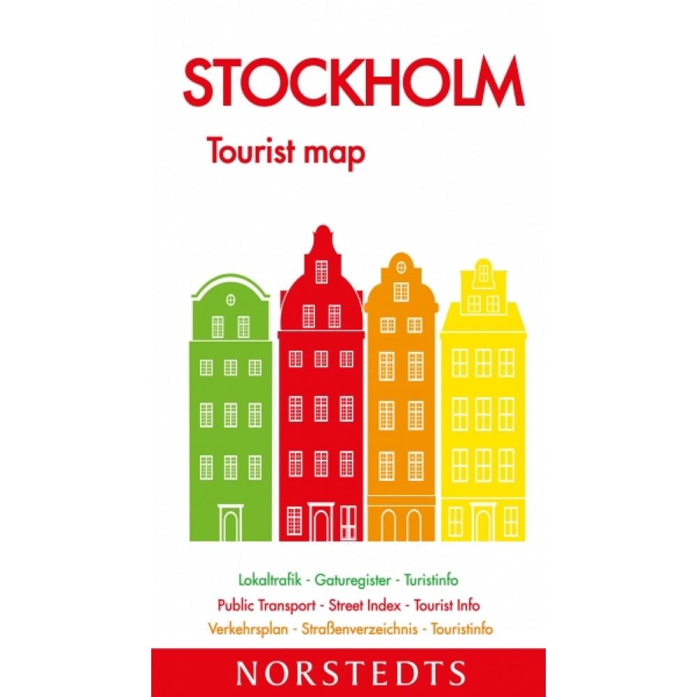Stockholm Tourist Map