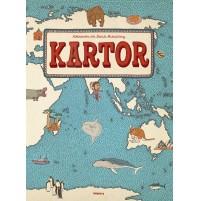 Kartor, en fantasieggande kartbok för familjen