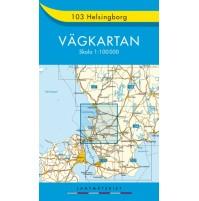 103 Helsingborg Vägkartan