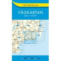 105 Karlskrona Vägkartan