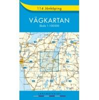114 Jönköping Vägkartan