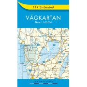 119 Strömstad Vägkartan