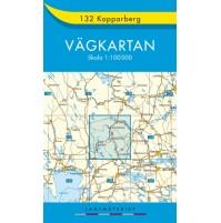 132 Kopparberg Vägkartan
