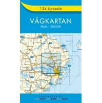134 Uppsala Vägkartan