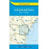 150 Sundsvall Vägkartan