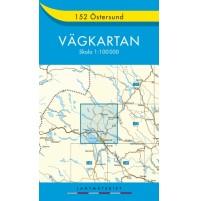 152 Östersund Vägkartan