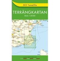 503 Tomelilla Terrängkartan