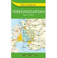 504 Landskrona Terrängkartan