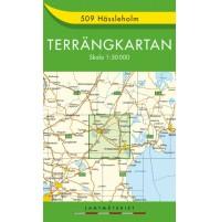 509 Hässleholm Terrängkartan