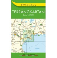 510 Sölvesborg Terrängkartan