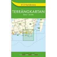 512 Karlskrona Terrängkartan