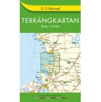 513 Båstad Terrängkartan