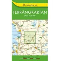 514 Markaryd Terrängkartan