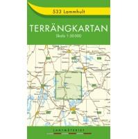 533 Lammhult Terrängkartan