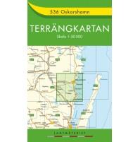 536 Oskarshamn Terrängkartan