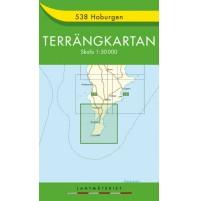 538 Hoburgen Terrängkartan