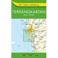 541 Södra Göteborg Terrängkartan