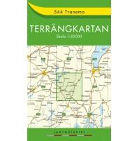 544 Tranemo Terrängkartan