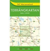 547 Mariannelund Terrängkartan